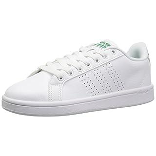 adidas New Men's Cloudfoam Advantage Clean Sneaker White/Green 10