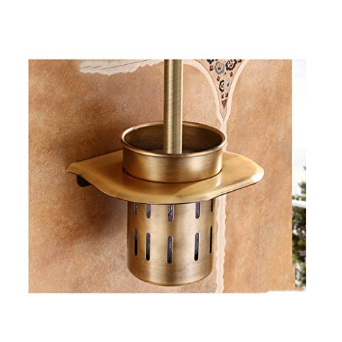 LAAN Toallero de baño Estante - Portapapel para Secadora de Pelo - Portatoallas Doble - Portacepillos - Portafiltros - Estante de Esquina para baño, ...