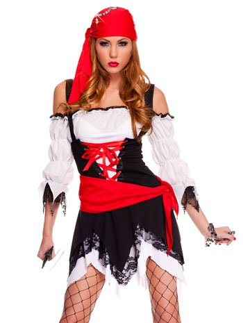 Pirate Vixen Adult Costume - X-Large -