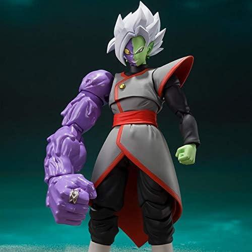 Tamashii Nations Dragon Ball Super Zamasu Potara Ver Goku Zwart Ssj Rose Pvc Action Figure Model Speelgoed 16 Cm