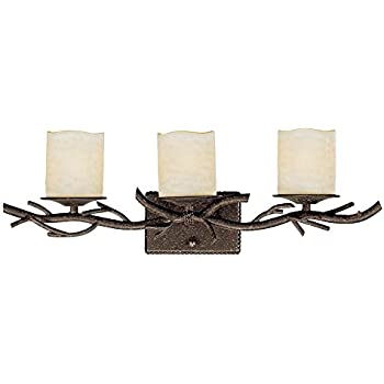 Rustic Twig 25 Quot Wide Bronze Bathroom Wall Light Vanity