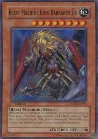 Yu-Gi-Oh! - Beast Machine King Barbaros Ur (ANPR-EN097) - Ancient Prophecy - Unlimited Edition - Super Rare