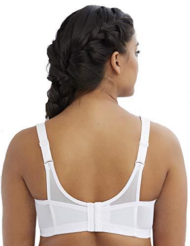Glamorise Women's Full-Figure Sports Bra, White, 34G by Glamorise (Image #1)