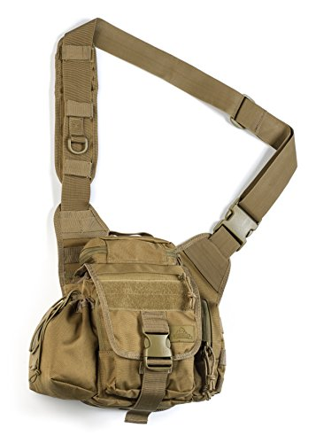Red Rock Outdoor Gear Hipster Sling Bag, Coyote