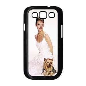 C-EUR Phone Case Audrey Hepburn Hard Back Case Cover For Samsung Galaxy S3 I9300