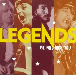 Blues Rock Legends - Legends: We Will Rock You