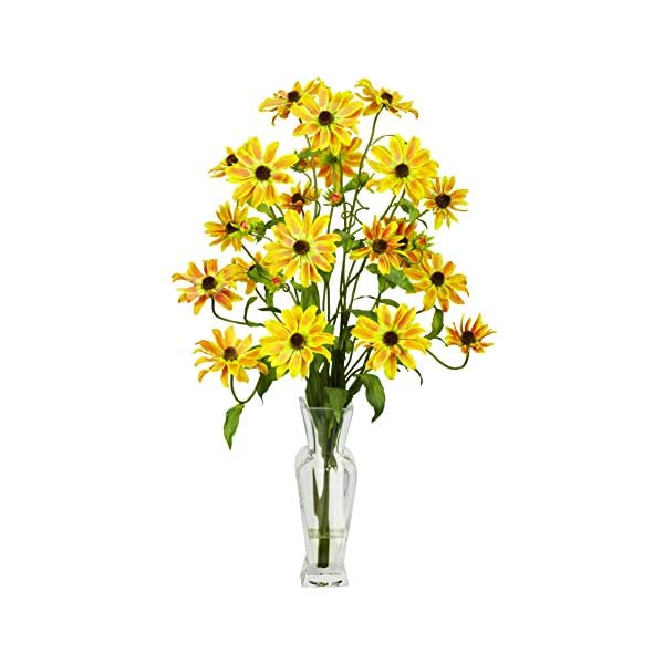 Artificial Flowers -Cosmos with Vase Flower Arrangement Silk Flowers