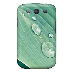 Durable Protector Case Cover With Leaf Water Hot Design For Galaxy S3