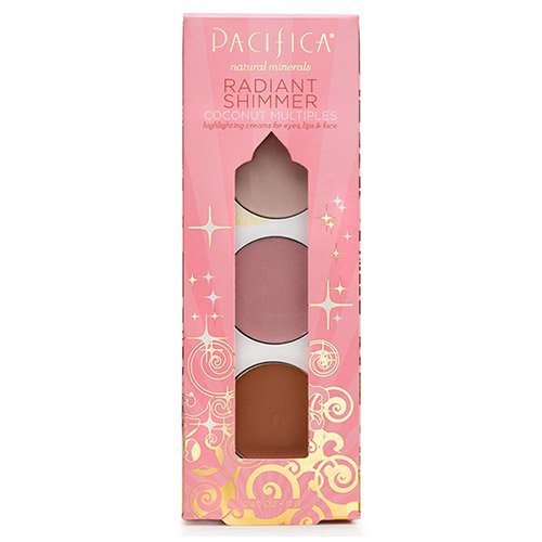 Pacifica Radiant Shimmer Coconut Multiples -- 0.4 oz