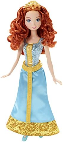 Amazon.es: Disney Princesas Muñeca, Princesa Purpurina Merida ...