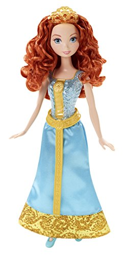Mattel Disney Sparkle Princess Merida -