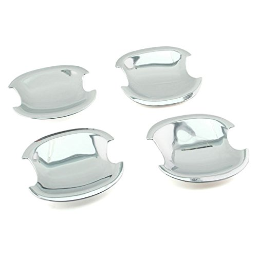 SEGADEN Chrome Door Handle Bowl Cover Trims fit for TOYOTA with PSG Keyhole XG2416B ()