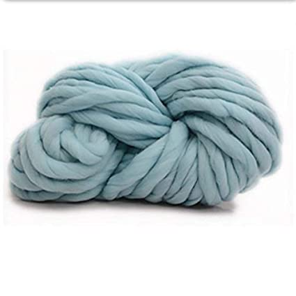 Petsdelite® Puseky Thick Icelandic Wool Nice Color Sweater Chunky Knitting  Yarn DIY Bulky Roving Knitted Headdress 12 Colors for Choose  10 f0d07dd2b