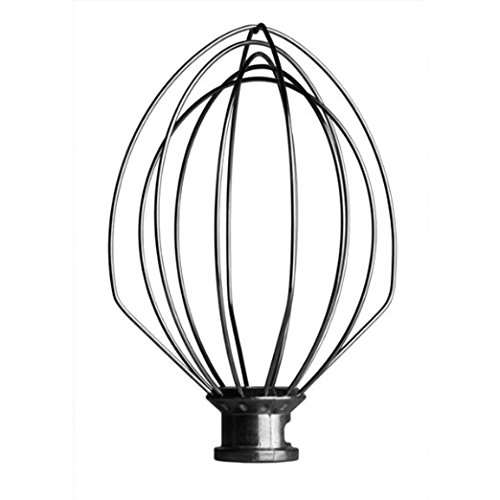 K5AWW Wire Whip for 5 Quart Stand Mixer (replaces WPW10731415, W10731415, PS11757305, AP6023957 ) for KitchenAid K5AWW