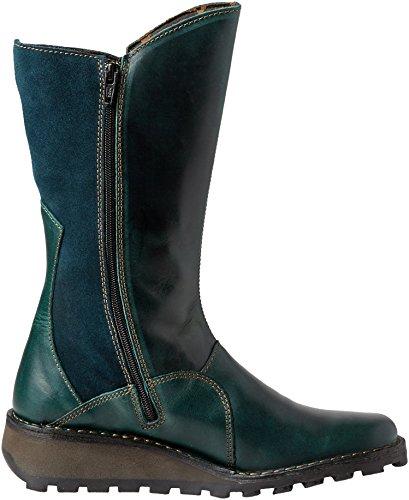Boots Green Fly Mes London 091 Petrol Chukka Women's nxBvZq
