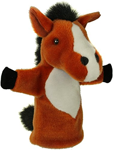 The Puppet Company CarPets Brown Horse Hand Puppet