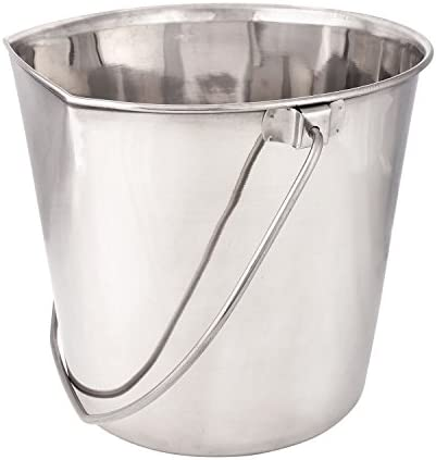 Pro Select Stainless Steel Flat Sided Pail