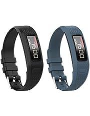 Tyogeephy Klockarmband kompatibelt med Vivofit 1/Vivofit2, mjuk silikon färgglad ersättning klockarmband för Vivofit 1/Vivofit 2 aktivitetsspårare, för kvinnor män små stora