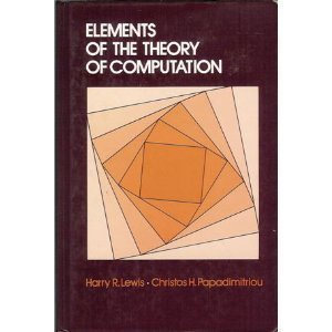 Elements of the Theory of Computation (Prentice-Hall Software Series)