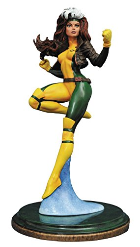 Diamond Select Toys Marvel Premier Collection: Rogue Resin (Rogue Marvel Costumes)
