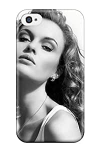 Flexible Tpu Back Case Cover For Iphone 4/4s - Style Women People Women
