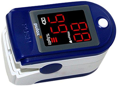 37 opinioni per Pulsossimetro Pulox-PO-100 con display a LED, Colore: blu