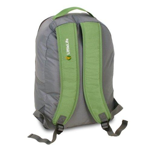 LittleLife Arc 2 Travel Cot Green