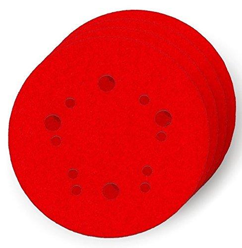 4-Pack Diablo DCD050120H04G 5 in FREUD AMERICA INC 120-Grit Universal Hole Random Orbital Sanding Disc