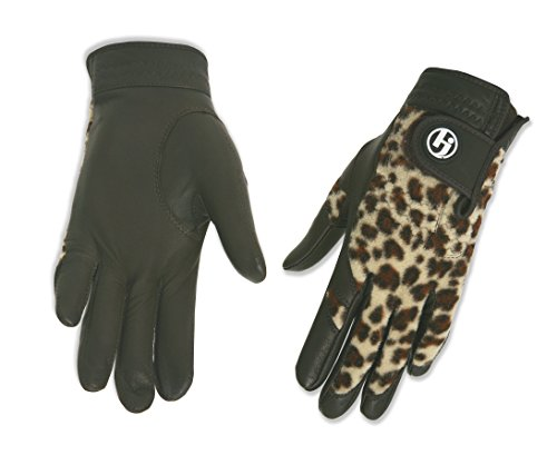Leopard Gloves Golf - HJ Glove Women's Winter Performance Golf Gloves, Medium, Brown Leopard
