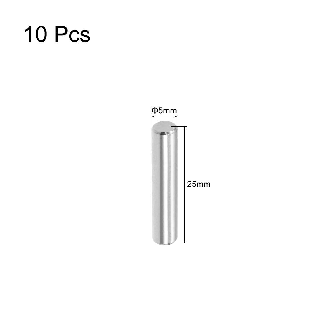 sourcing map 10 pzas Pasador de Acero Inoxidable 304 Pin Estante Sujetar Elementos de 6mm x 30mm