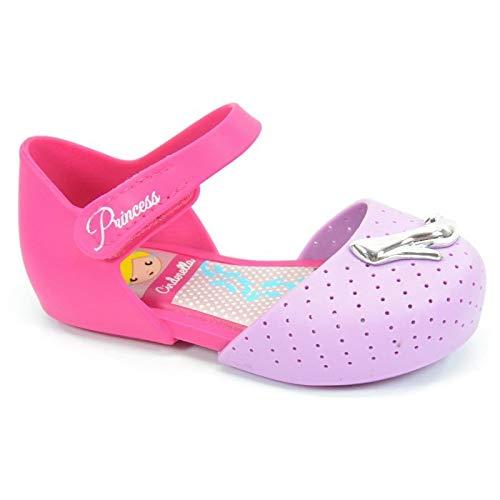 Sapatilha Disney Princesas Cinderella Lilas Rosa - 21425