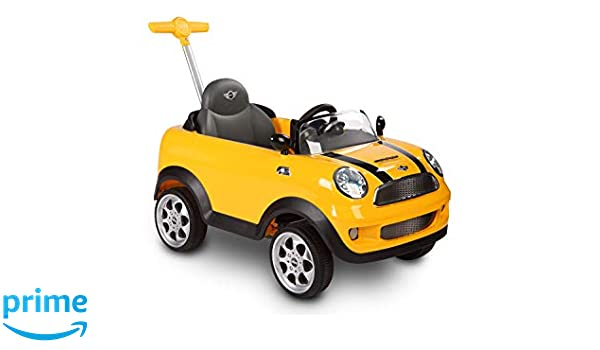 Rollplay 42583 Mini Cooper Push Car, Amarillo: Amazon.es: Juguetes ...