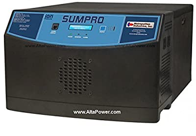 Sumpro 100 - (Batteries Included) - Battery Powered Generator with Transfer Switch for Sump Pump Power Backup - ION Sumpro 100