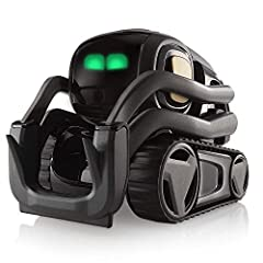"""Say """"Hey Vector."""" Aware and reactive, Vector hangs out and helps out. Now with Alexa built-in. Robot helpfulness supercharged. Alive with personality. Vector is no ordinary home robot. Packed with technology that brings him to life, he's curi..."""