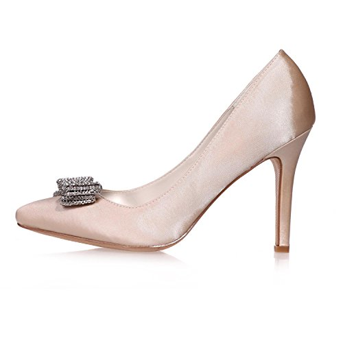 Disponibles Zapatos Más Fiesta De Tacones Boda yc Para Colores L Mujer 26 Seda Y Champagne Noche 0608 4wq5HUUZxO