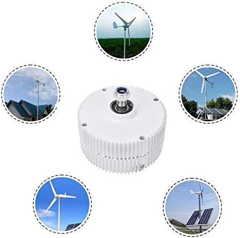 LQQ Niedrige Drehzahl 300w / 400w 12v / 24v / 48v Ausgang Permanentmagnetgenerator Windturbinengenerator Niedrige Drehzahl PMG,400W-12V