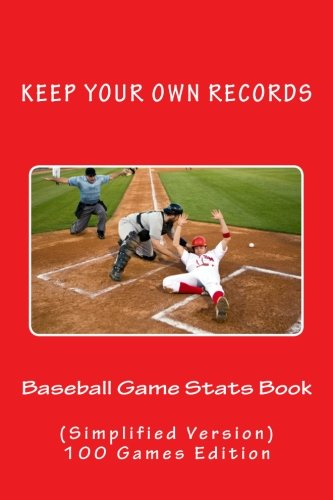 Baseball Game Stats Book: Keep Your Own Records (Simplified Version) (Team Colors) (Volume 4) pdf
