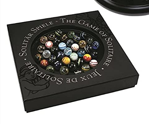 Solitaire Di Venezia with Marbles - Playing Marbles