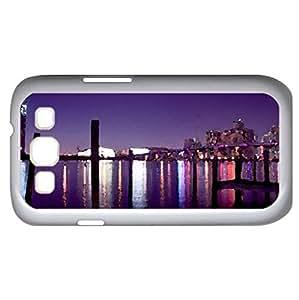 Miami (Skyscrapers Series) Watercolor style - Case Cover For Samsung Galaxy S3 i9300 (White)