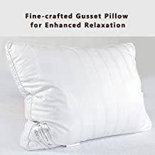 The Duck And Goose Co The Duck And Goose Co Premium Hotel Quality White Microfiber Luxury Down Alternative Pillow, Hypo-Allergenic Standard One Pack