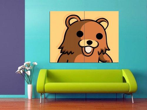 Pedo Bear Internet Web Memes Animal Ted Huge Poster Print