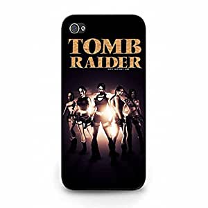 Personalized Custom Tomb Raider Phone Case Protective Shell Cover for Iphone 5/5s Tomb Raider Hot Cool Cell Phone Case
