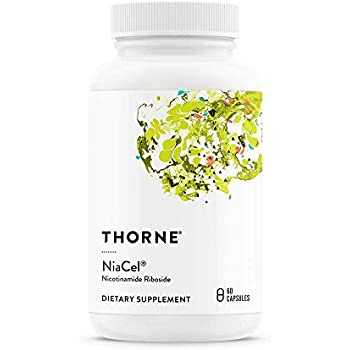 Thorne Research - NiaCel - Nicotinamide Riboside Supplement with  ChromaDex's Niagen -