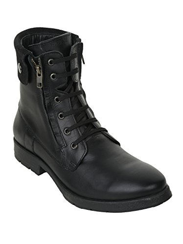 Liberty Mens Leather Boots 9.5 BLACK