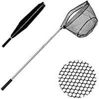 xunma Fishing Landing Net with Telescoping Pole Handle,67...