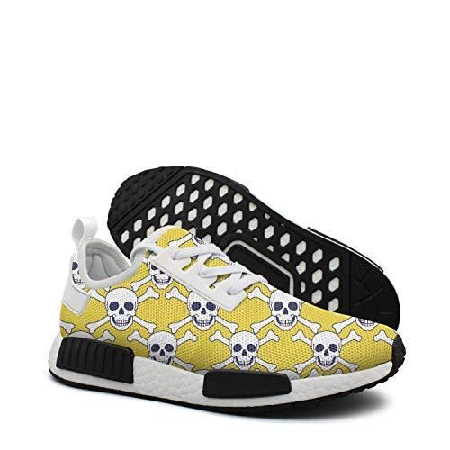 Yellow skull diamond cross cushioned running shoes women nmd xr1 blue