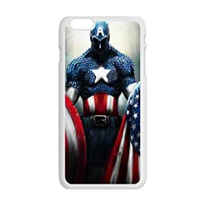 Capital American Fashion Comstom Plastic case cover For Iphone 6 Plus