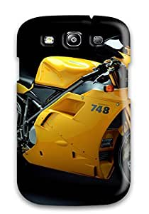 Hot VsDbkoZ5301UcOMK Ducati Motorcycle Tpu Case Cover Compatible With Galaxy S3