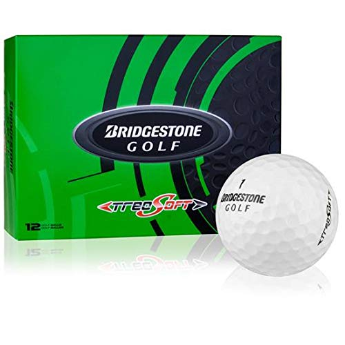 ブリヂストンTreosoftゴルフボール(1ダース)   B018HHPPJI
