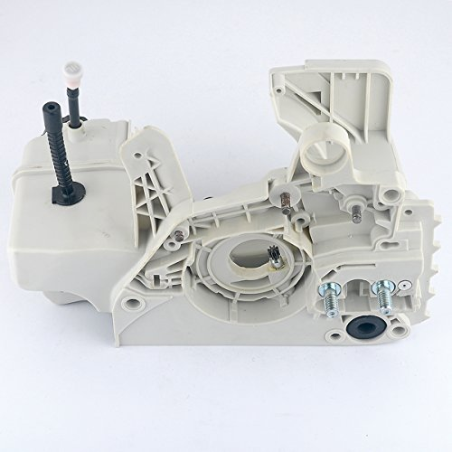 HIPA 1123 020 3003 Fuel Tank Crankcase Engine Housing with Oil / Fuel Cap Fit STIHL 021 023 025 MS210 MS230 MS250 Chainsaw